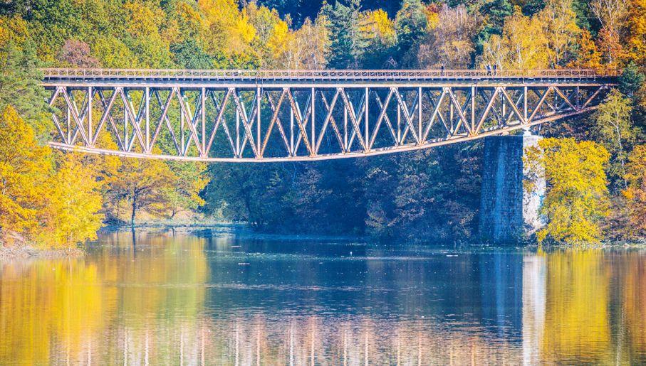 Most nad Jeziorem Pilchowickim (fot. Shutterstock)