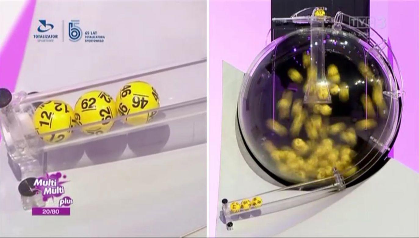 Wyniki losowania Lotto w środę, 28 lipca (fot. TVP Info)