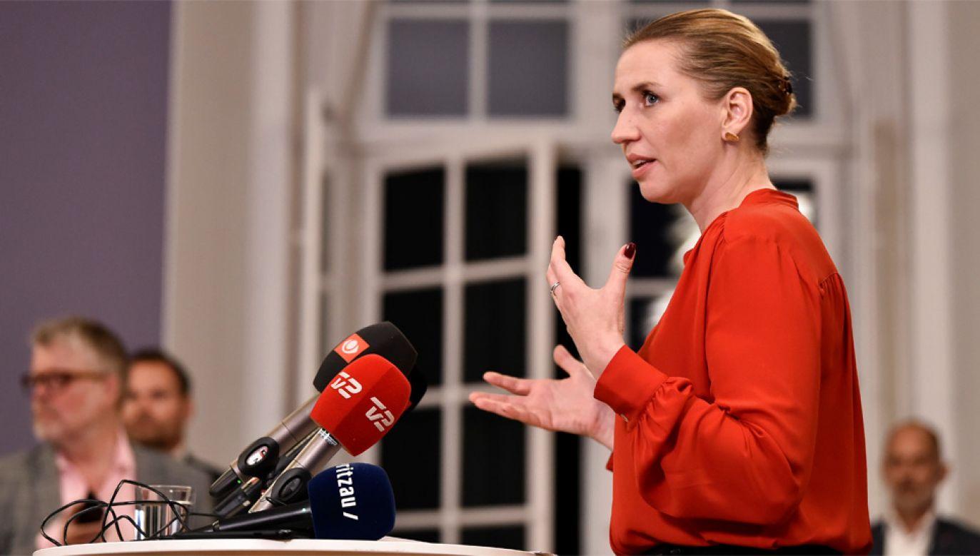 41-letnia Mette Frederiksen zostanie najmłodszym premierem w historii Danii (fot. PAP/EPA/Mads Claus Rasmussen)