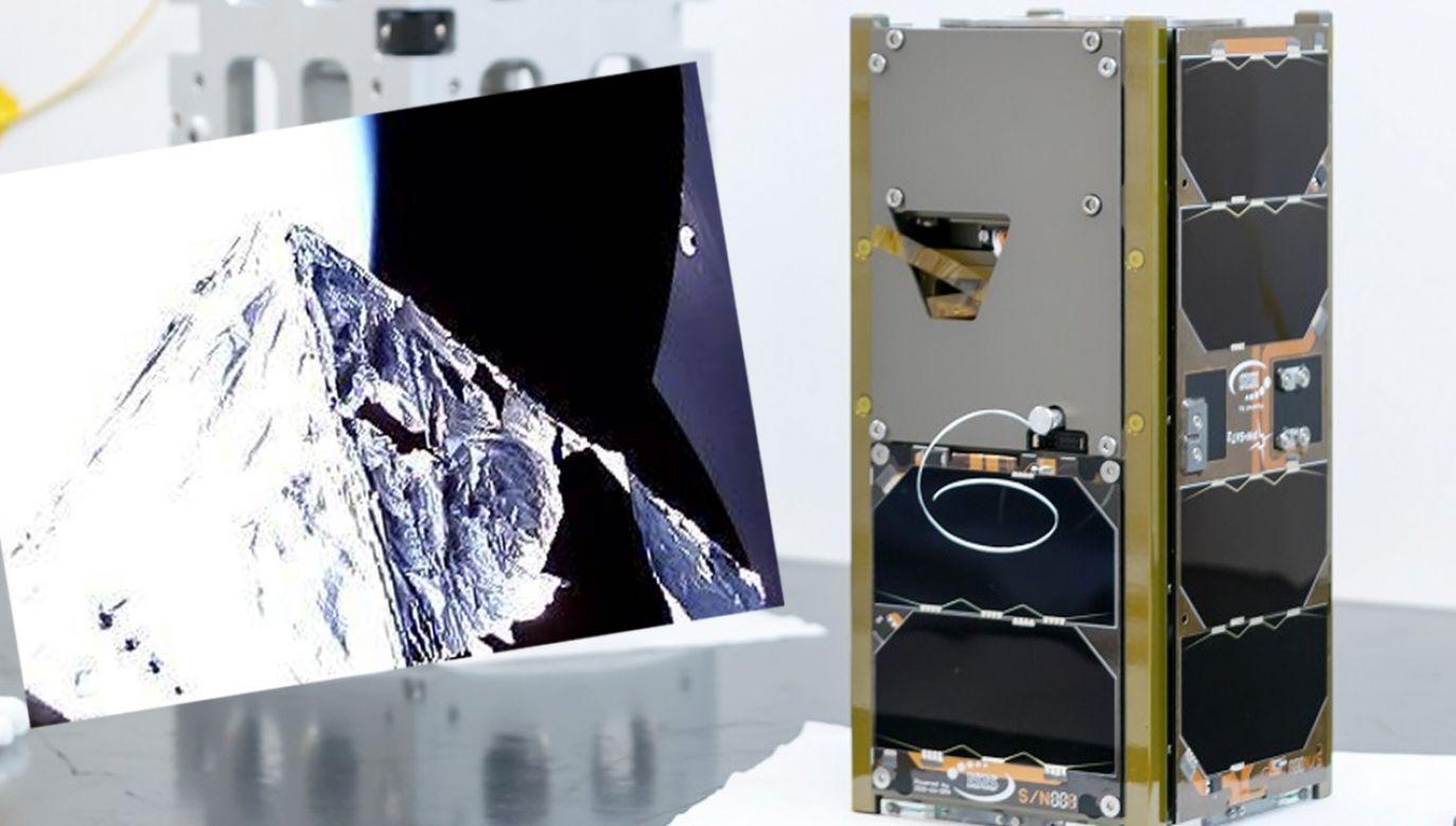 Koniec misji polskiego satelity (fot. PW)
