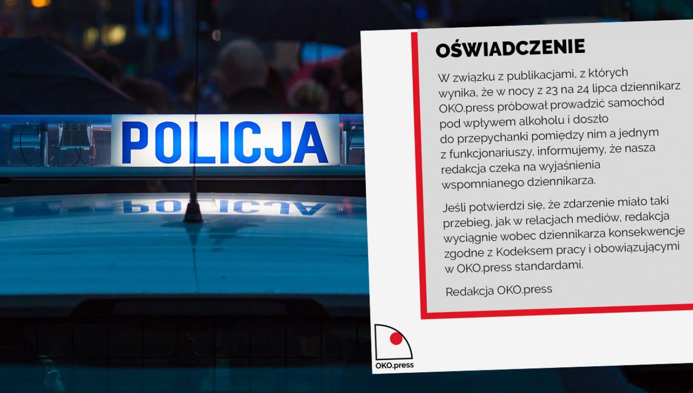 """Oko.press zastrzega, że wyciągnie konsekwencje, o ile informacja """"się potwierdzi"""" (fot. Shutterstock; TT)"""