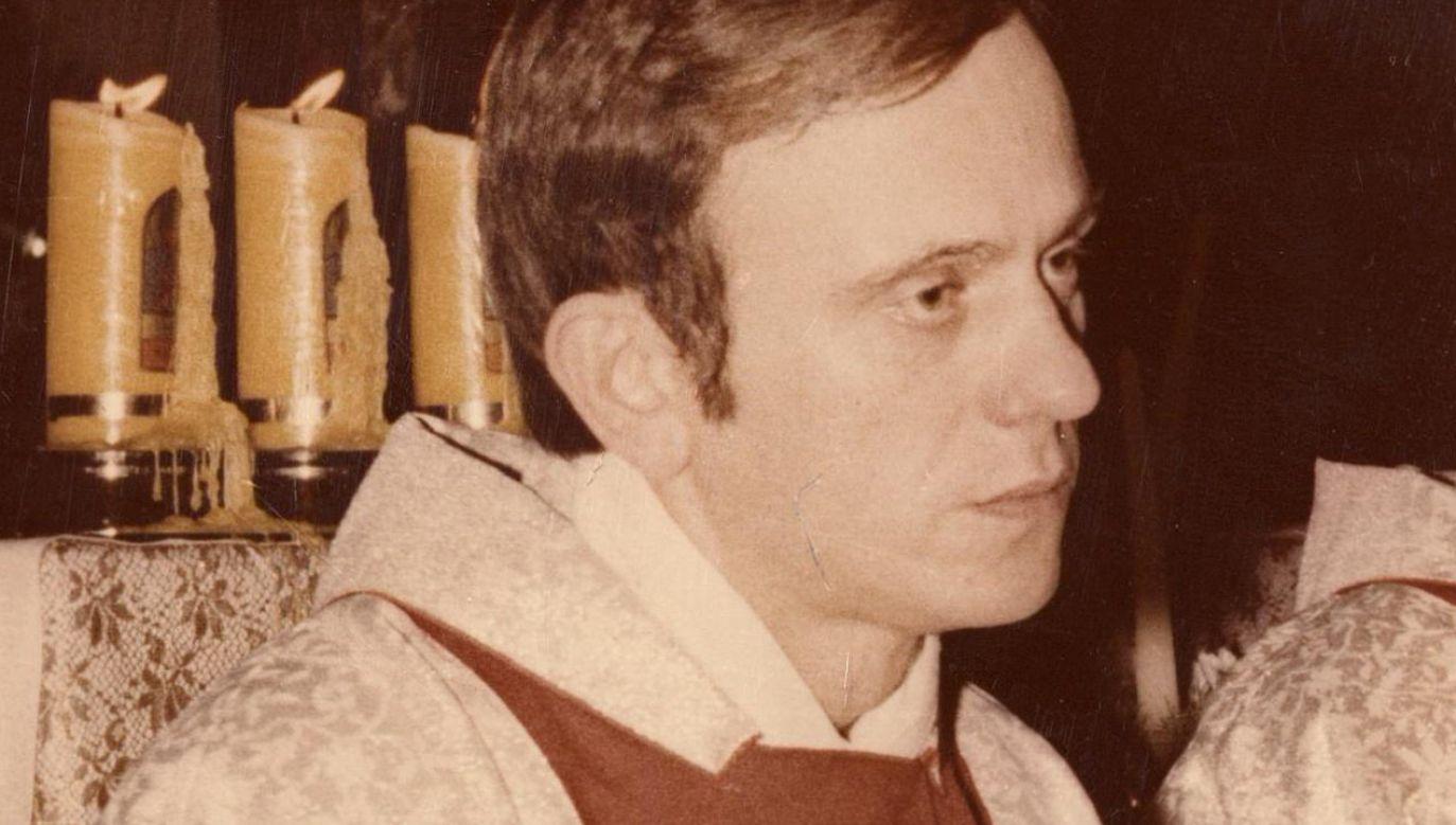 Ks. Jerzy Popiełuszko został  porwany 19 października 1984 r. (fot. Wikimedia Commons/Andrzej Iwański)