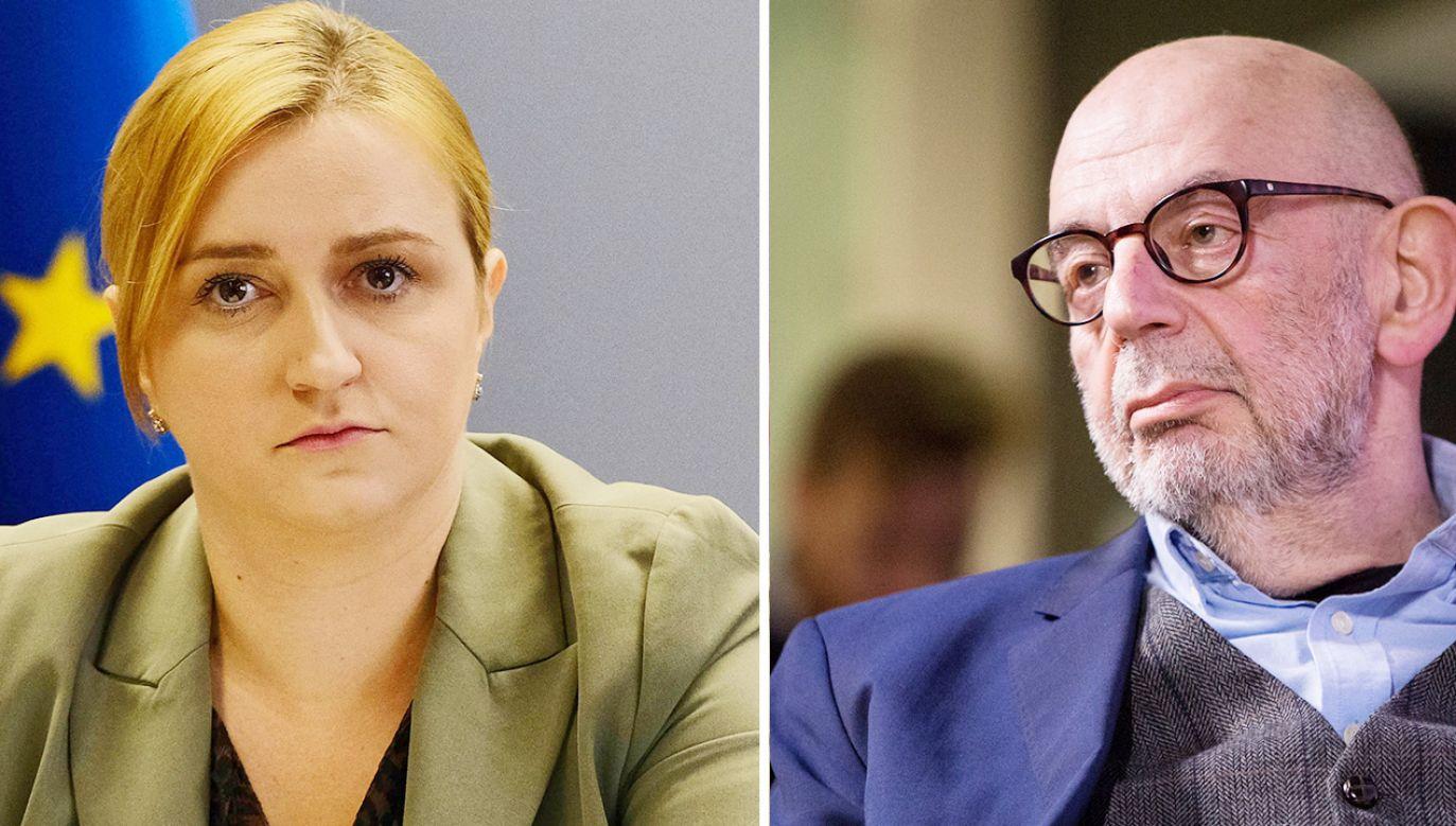 Olga Semeniuk komentuje wypowiedź prezesa Green Caffe Nero Adama Ringera (fot. PAP/Mateusz Marek; Forum)