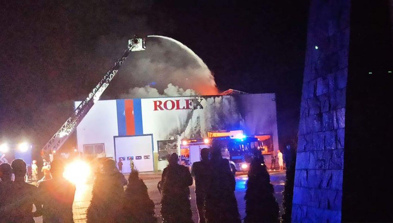 Do akcji ratunkowej ruszyło kilkanaście zastępów straży pożarnej (fot. Twoje Info)