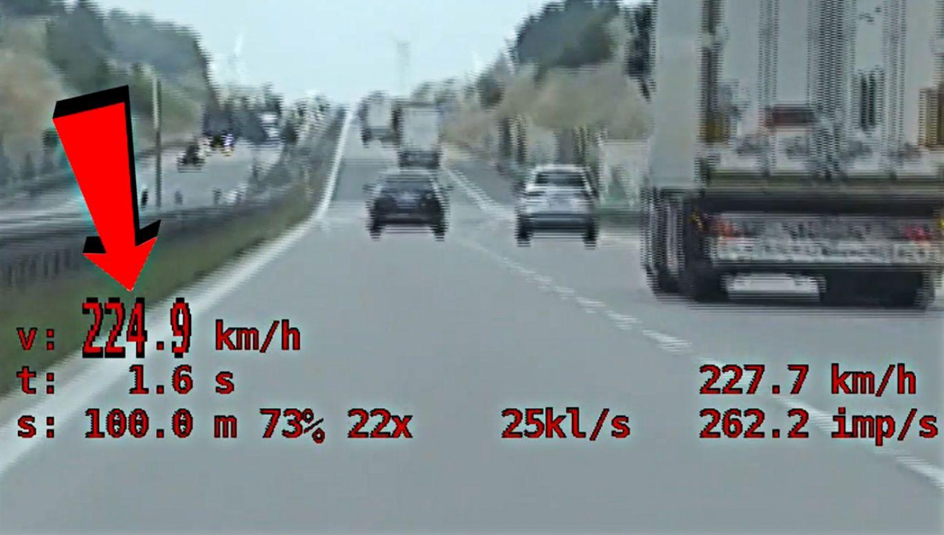 O losie kierowcy i jego prawa jazdy zadecyduje teraz sąd (fot. dolnoslaska.policja.gov.pl)