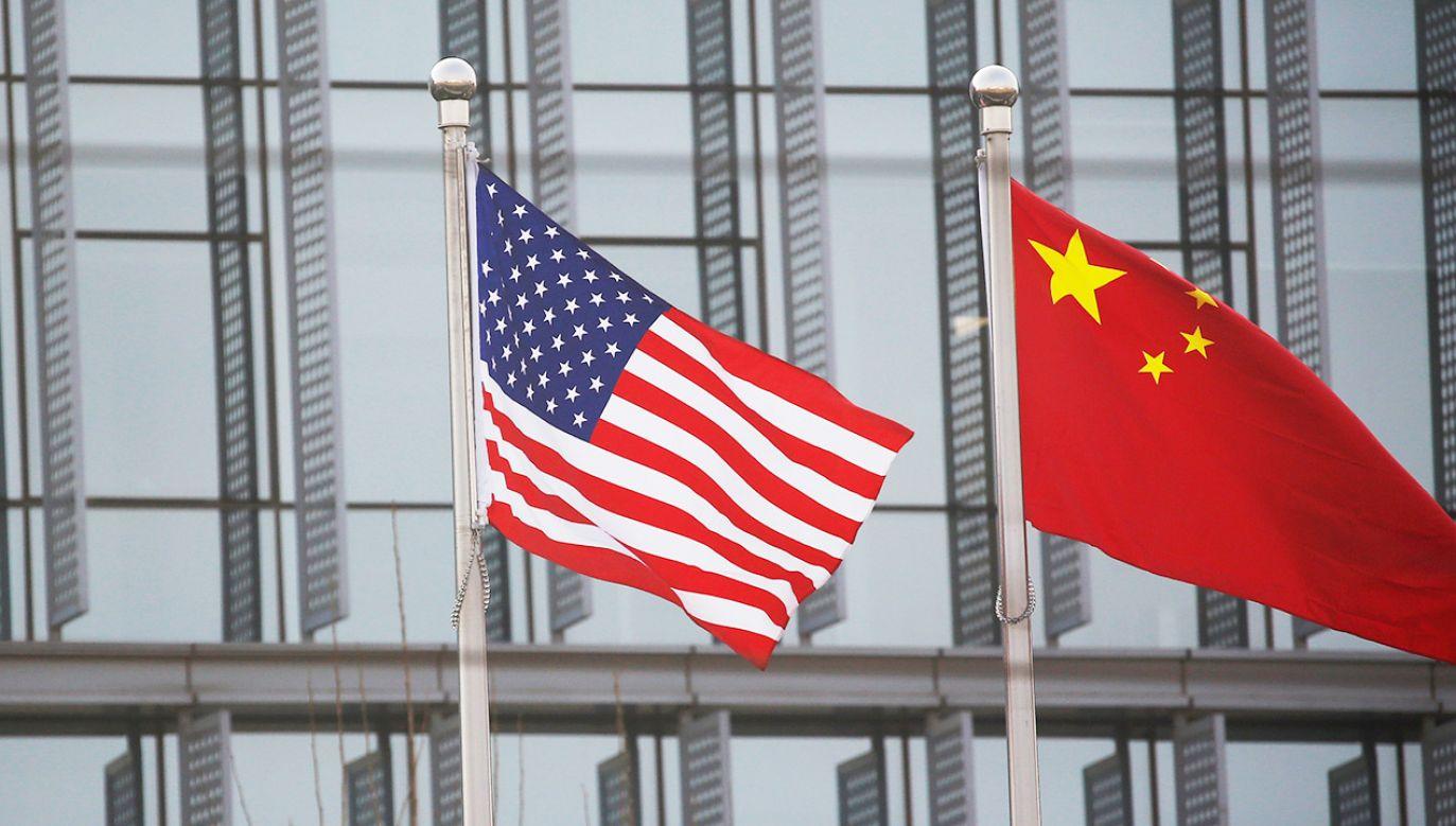Relacje amerykańsko-chińskie dramatycznie pogorszyły się w ostatnich latach (fot. REUTERS/Tingshu Wang)