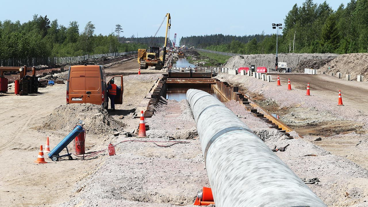 Nord Stream 2 (fot. Alexander Demianchuk\TASS via Getty Images)
