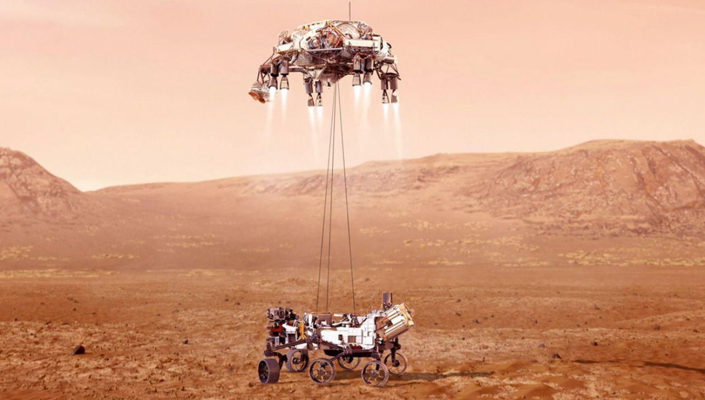 "Łazik planetarny ""Perseverance"" (fot. Reuters)"