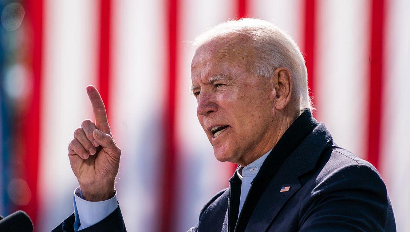 Przed kilkoma dniami Joe Biden skrytykował Polskę i Węgry (fot. Demetrius Freeman/The Washington Post via Getty Images)