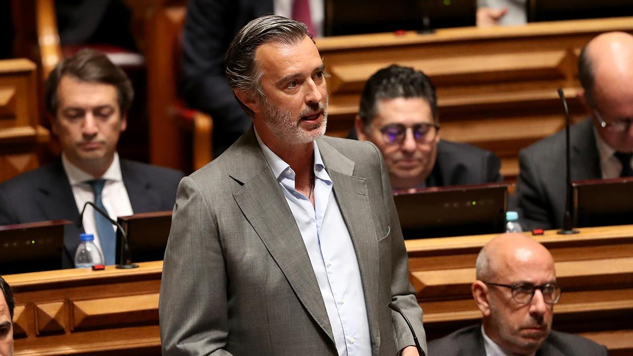 João Cotrim de Figueiredo (fot. Pedro Fiúza/NurPhoto via Getty Images)