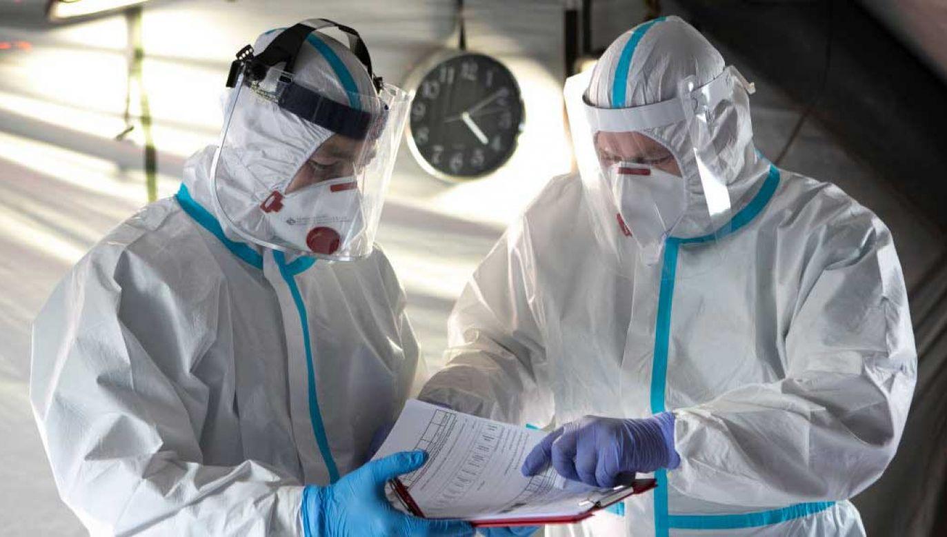 W szpitalach na Mazowszu hospitalizowanych jest 510 pacjentów z podejrzeniem Covid-19 (fot. Jacek Szydlowski/NurPhoto via Getty Images)