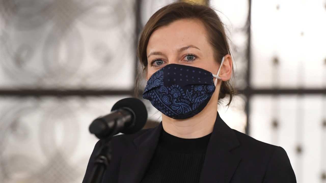 Kandydatka na Rzecznika Praw Obywatelskich Zuzanna Rudzińska-Bluszcz (fot. PAP/Piotr Nowak)