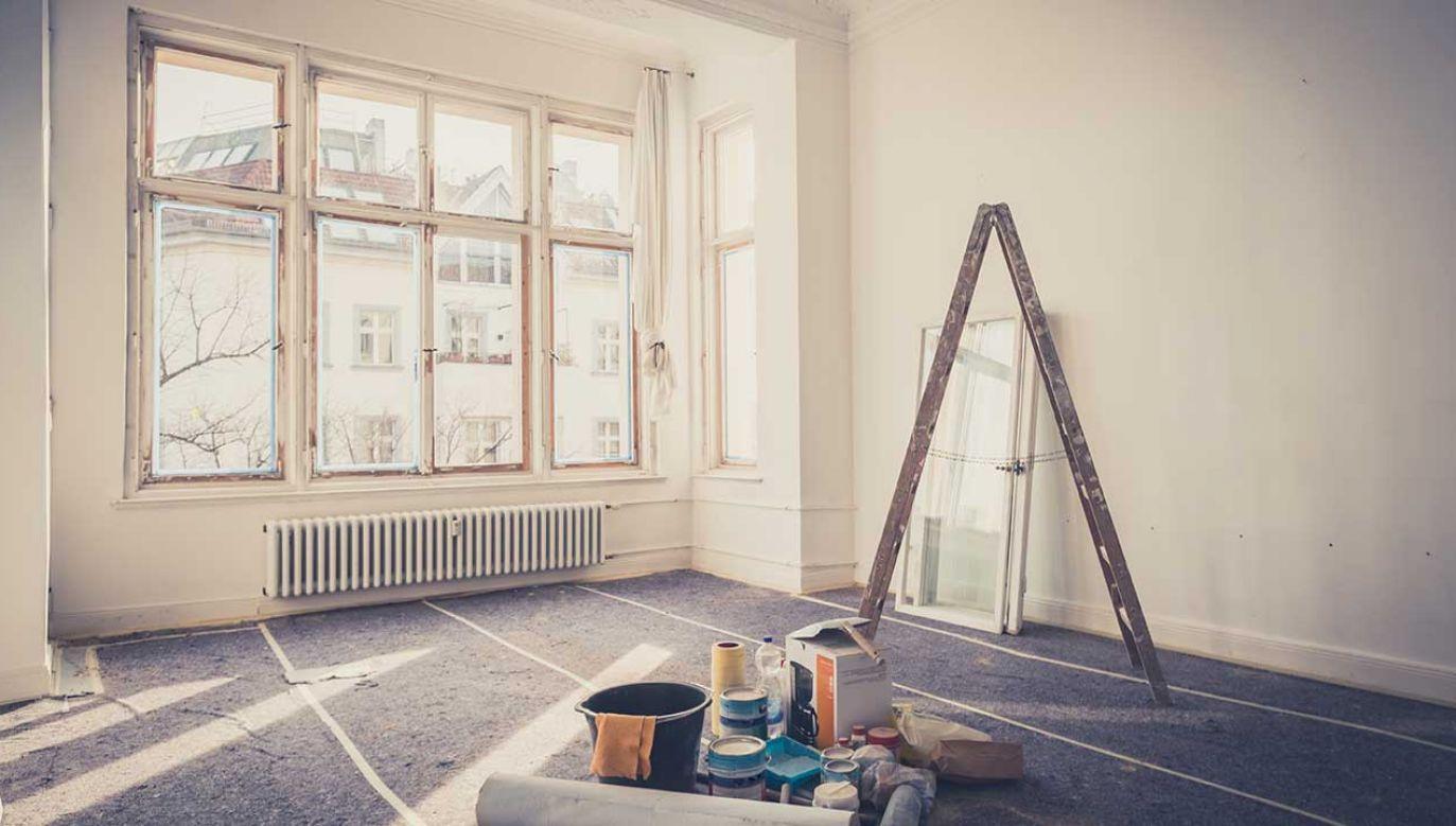 Prace remontowe, za które 39-latka pobrała pieniądze, nie zostały nawet rozpoczęte (fot. Shutterstock/hanohiki)