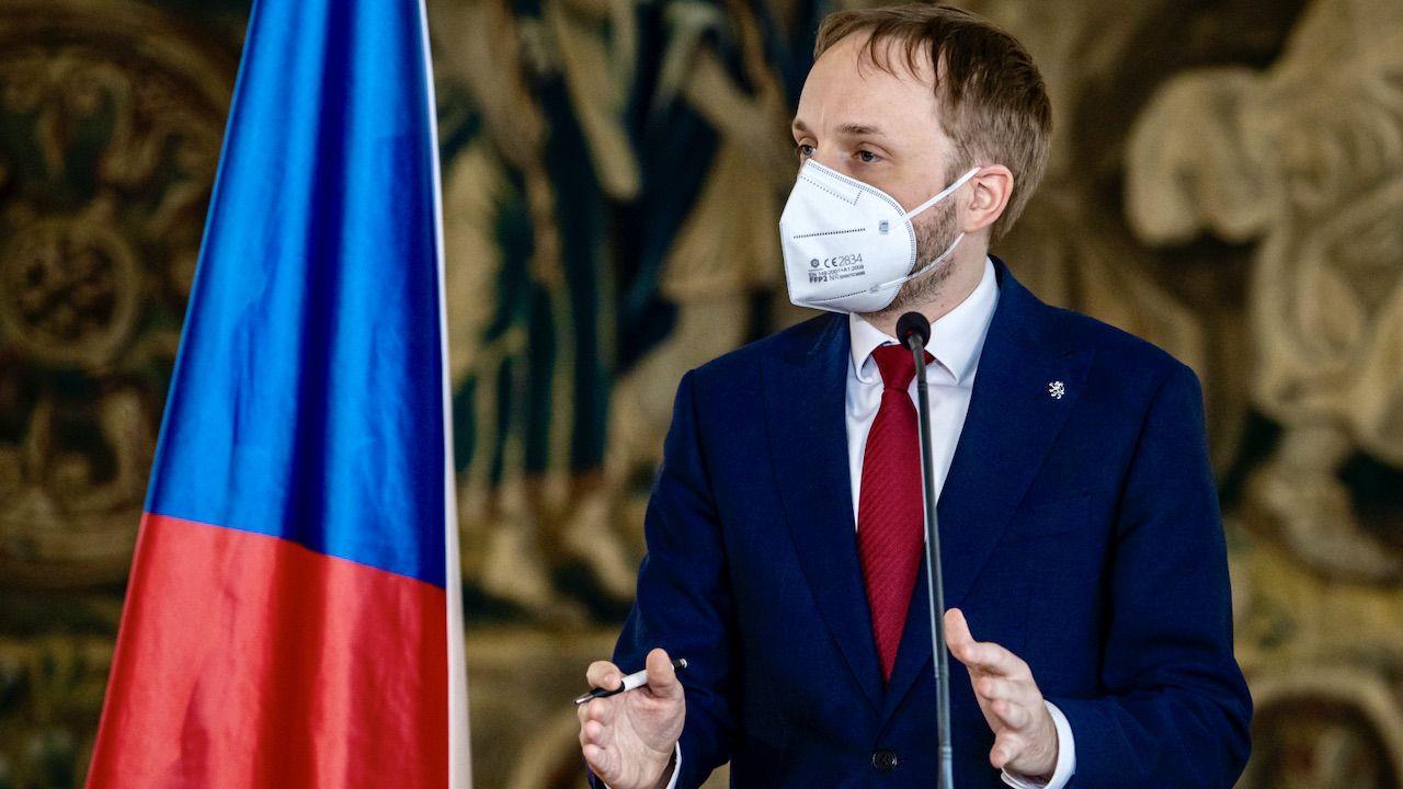 Czeski minister spraw zagranicznych Jakub Kulhánek  (fot. PAP/EPA/MARTIN DIVISEK)