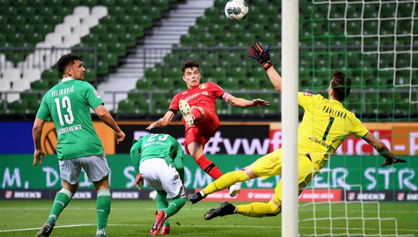 Niemiecka Bundesliga wznowiła już rozgrywki (fot. PAP/EPA/STUART FRANKLIN / POOL)