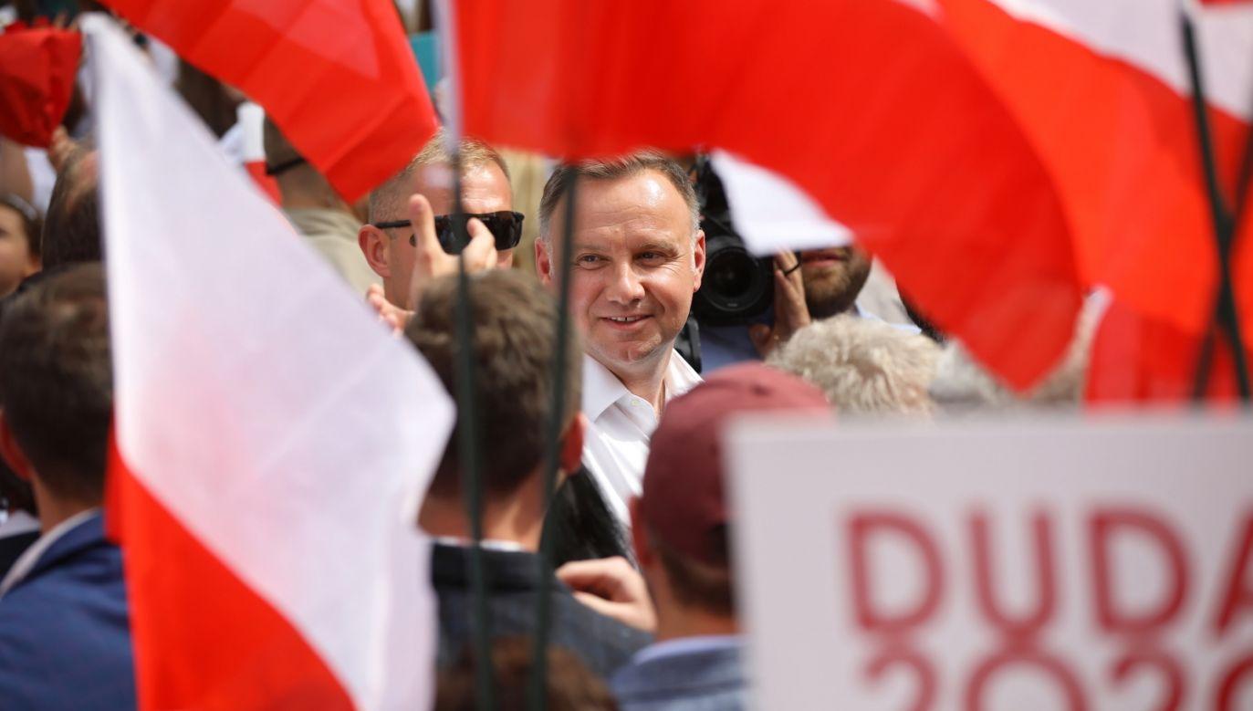 Prezydent RP Andrzej Duda (fot. PAP/Łukasz Gągulski)