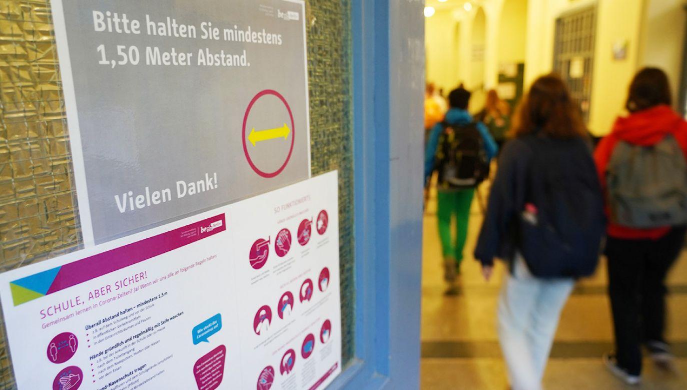"""""""Niemiecka edukacja musi zacząć uwzględniać polską historię"""" (fot. Sean Gallup/Getty Images)"""