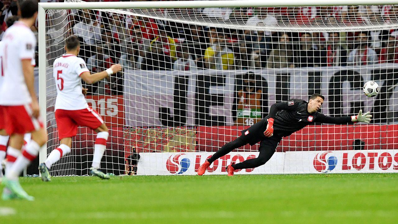 Stawkąmeczu były punkty eliminacji mistrzostw świata (fot. PAP/Piotr Nowak)