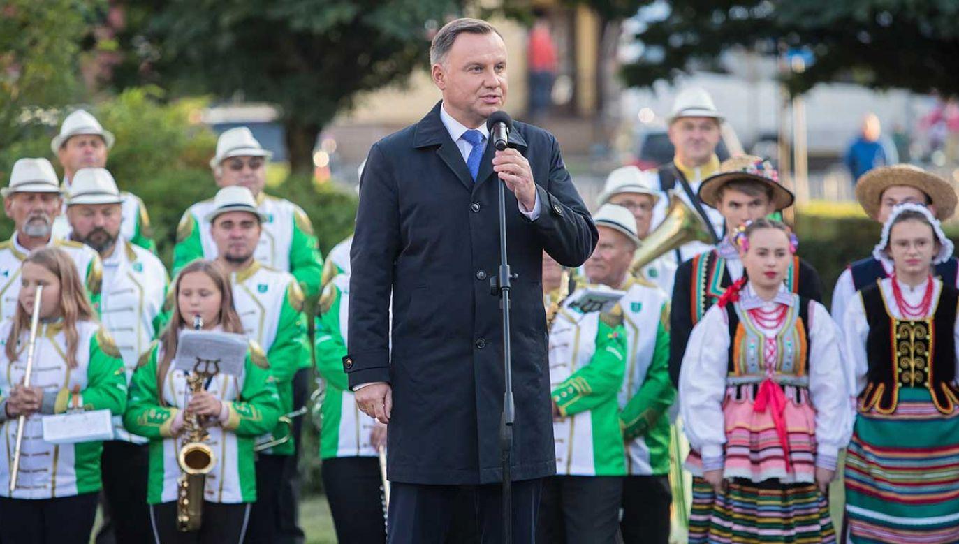 """Prezydent udzielił wywiadu dla """"Gościa Niedzielnego"""" (fot. PAP/Wojtek Jargiło)"""