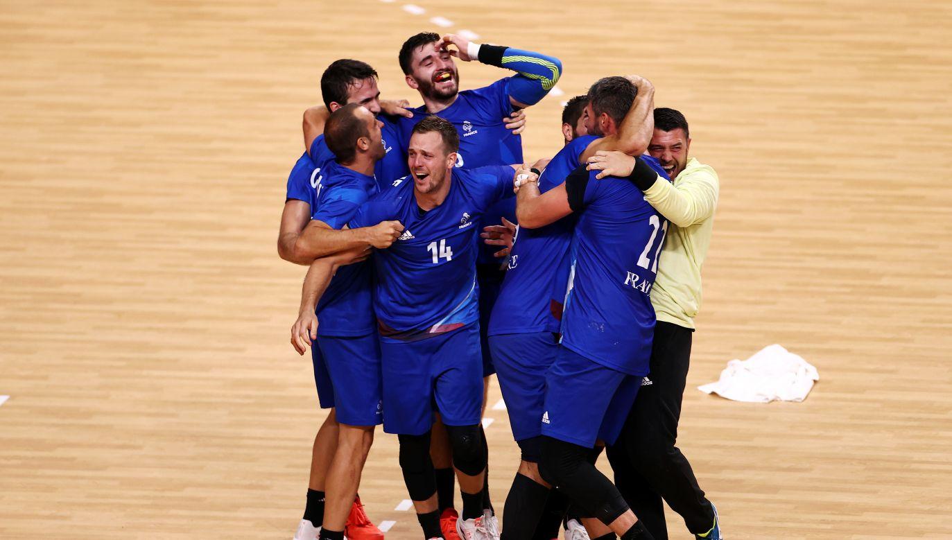 Piłkarze ręczni reprezentacji Francji (fot. Getty Images)