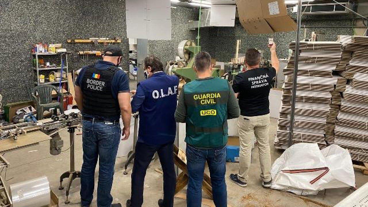 Odkryta fabryka miała bardzo dużą wydajność (fot. Guardia Civil)