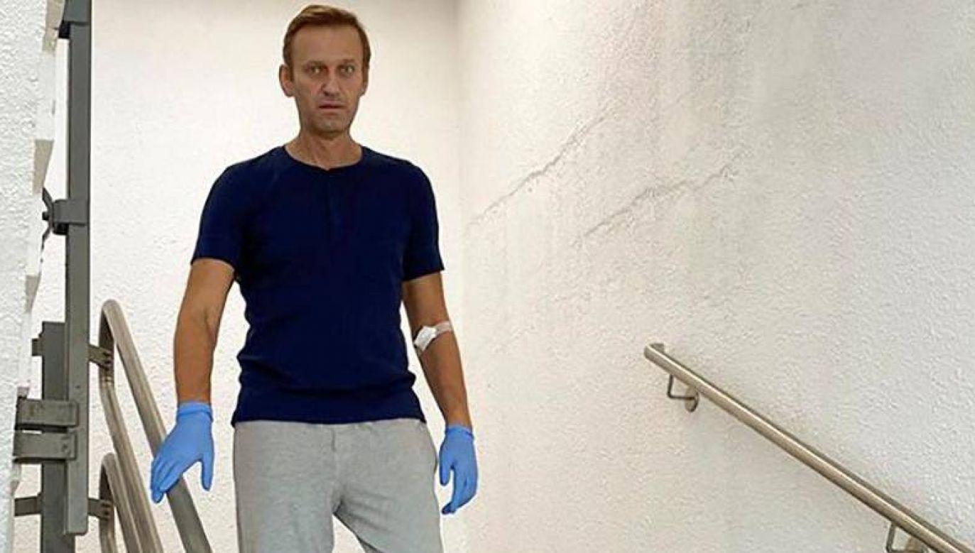 Aleksiej Nawalny do niedawna nie mógł zainicjować rozmowy i nie poznawał ludzi (fot. IG/Nawalny)