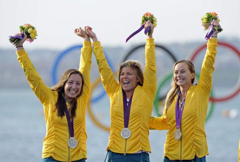 Australijki zdobyły srebrne medale (fot.PAP)