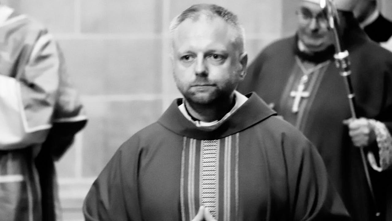 Paweł Mielecki był kapelanem Małopolskiej Policji (fot. Policja)