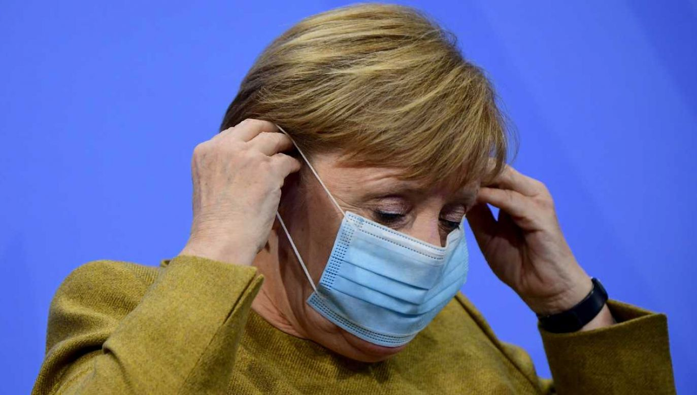Kanclerz Niemiec Angela Merkel (fot. PAP/EPA/CLEMENS BILAN / POOL)