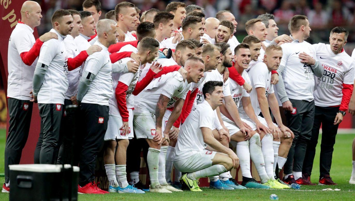 Reprezentanci Polski po awanse na mistrzostwa Europy 2020 (fot. Getty Images)