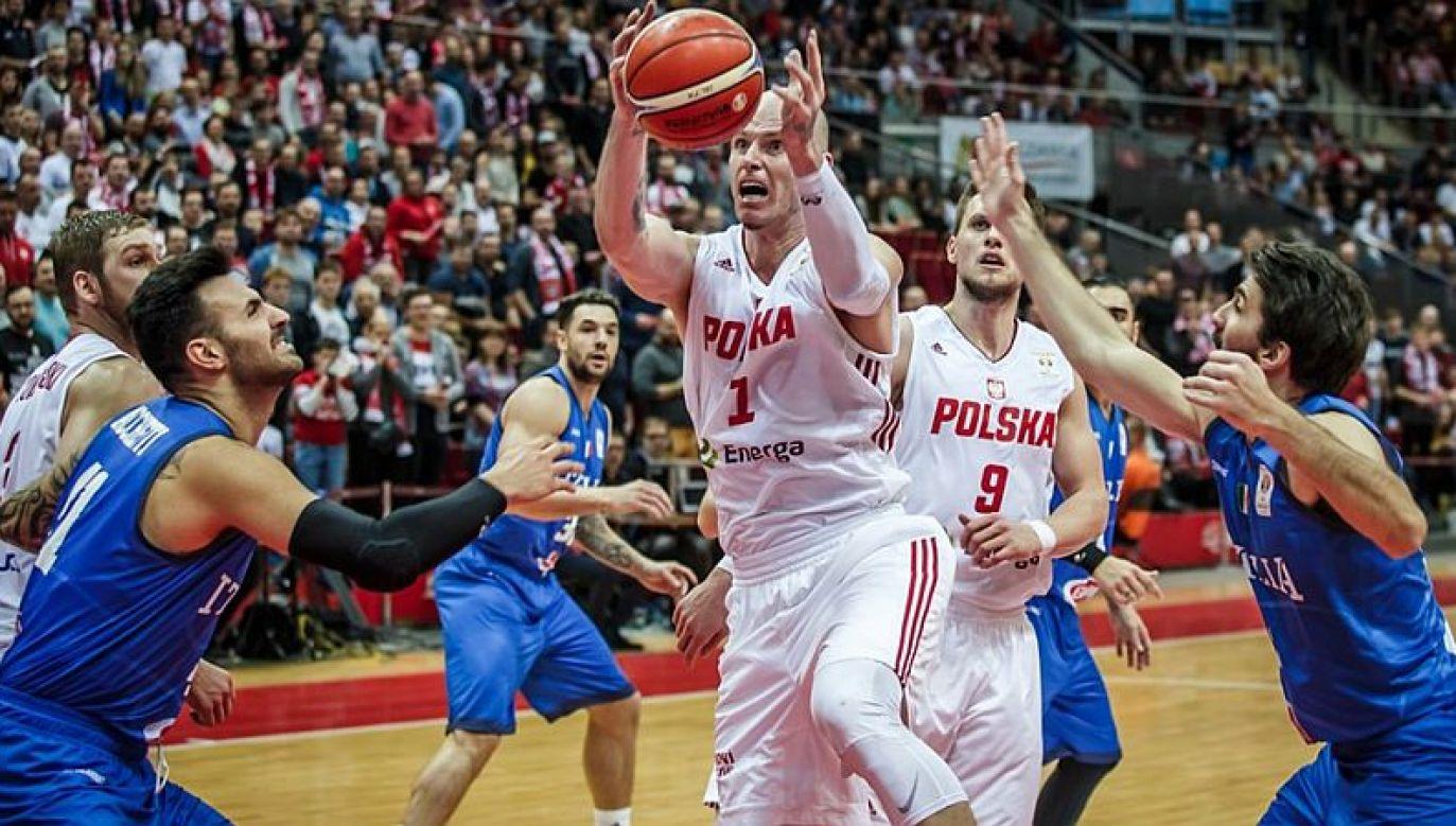 Maciej Lampe (fot. FIBA)