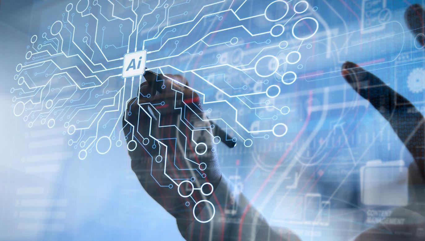 Nowe technologie wykorzystujące sztuczną inteligencję mają coraz większy wpływ na budowanie potencjału narodowych gospodarek (fot. Shutterstock/everything possible)