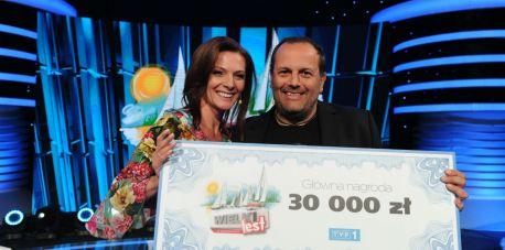 """Agata Konarska i Enrico Buscema zwycięzcami """"Wielkiego Testu o Wakacjach"""""""