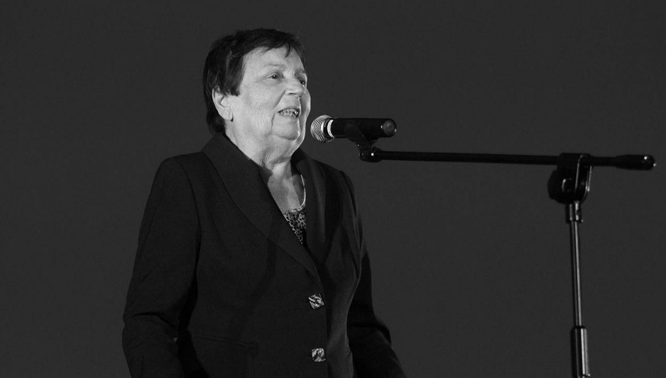 Prof. Alicja Helman zmarła po długiej chorobie (fot. PAP)