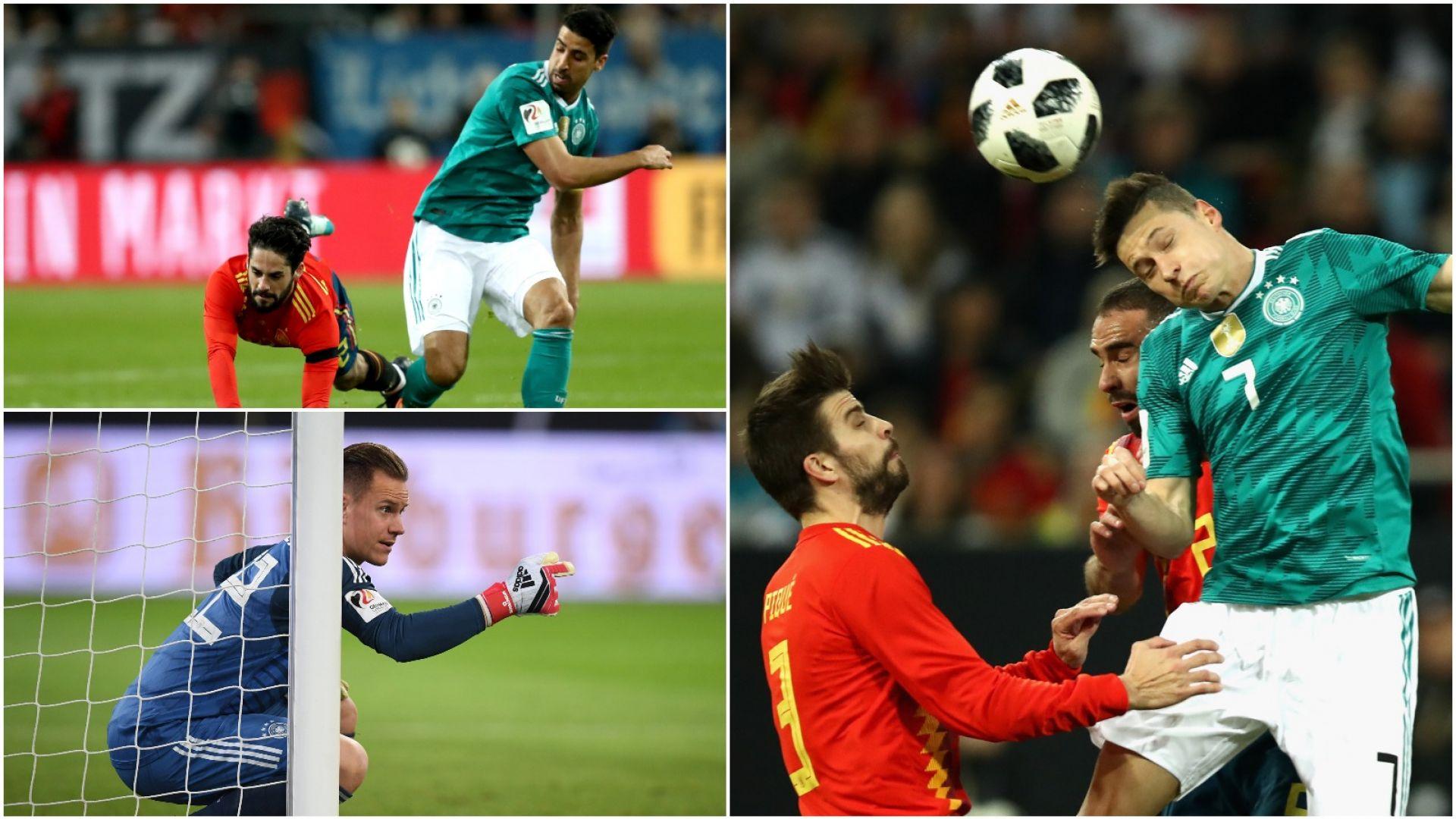 e6c90ebea Piłka nożna, mecz towarzyski Niemcy – Hiszpania (skrót)
