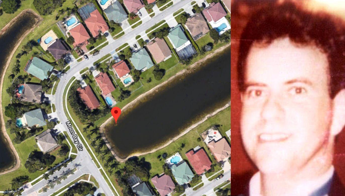 Odkrycie zgłosił rzeczoznawca zajmujący się nieruchomości, który dostrzegł pojazd przeglądając zdjęcia satelitarne (fot. Google Maps/National Missing and Unidentified Persons System)