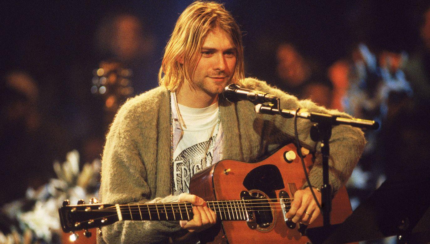 """""""To jeden z najbardziej znanych swetrów w historii muzyki"""" (fot. Frank Micelotta/Getty Images)"""