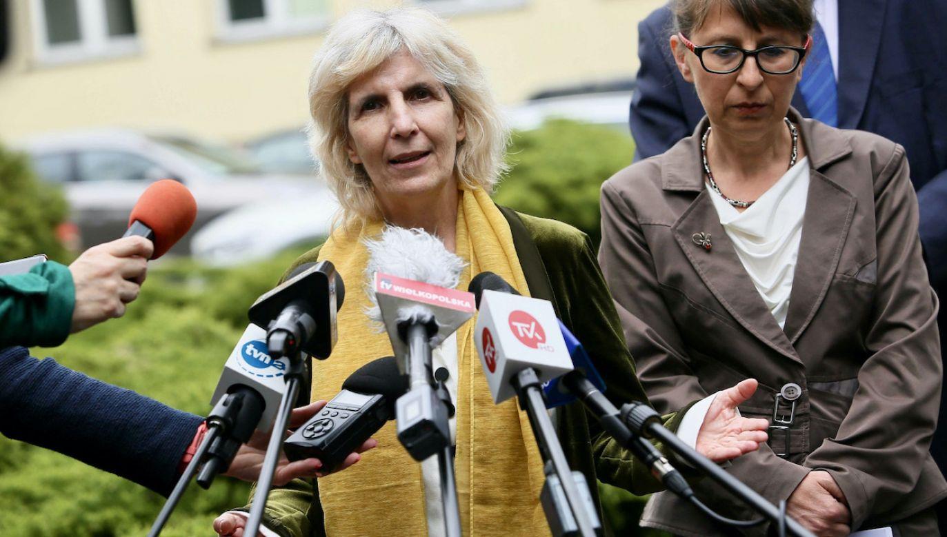 Przedstawicielka WHO w Polsce dr Paloma Cuchi (fot. PAP/T.Wojtasik)