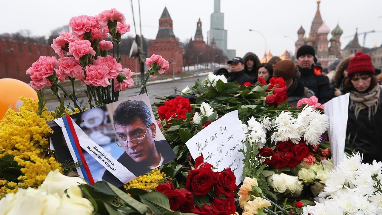 Mija 6. rocznica śmierci Borysa Niemcowa (fot. Sasha Mordovets/Getty Images)