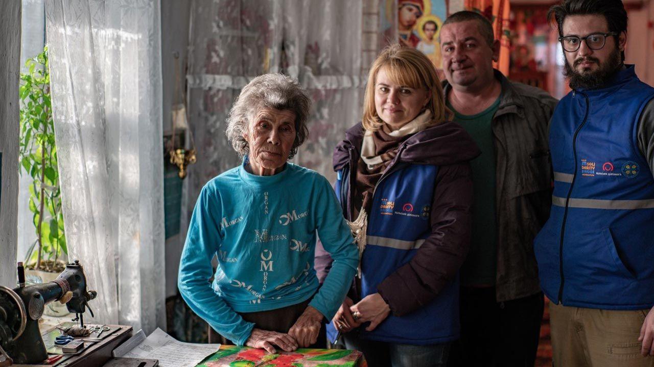Kryzys w liczącej blisko 500 km strefie przyfrontowej w Donbasie trwa od 2015 roku (fot. mostsolidarnosci.org)