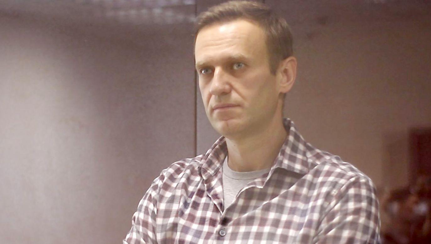 Kolejne osoby przyłączają się do głodówki Nawalnego (fot. Moscow City Court\TASS via Getty Images)