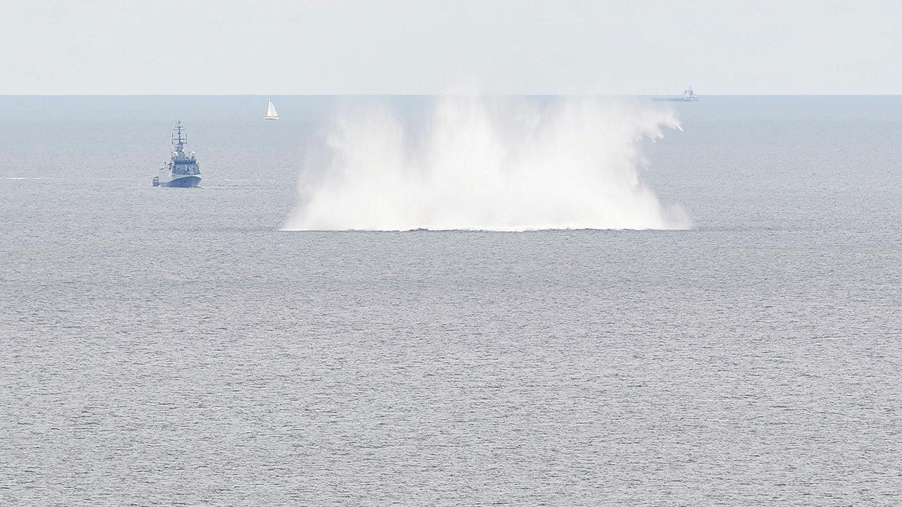 W Morzu Północnym i Bałtyckim zatopiono 1,6 mln ton amunicji  (fot. PAP/Adam Warżawa)
