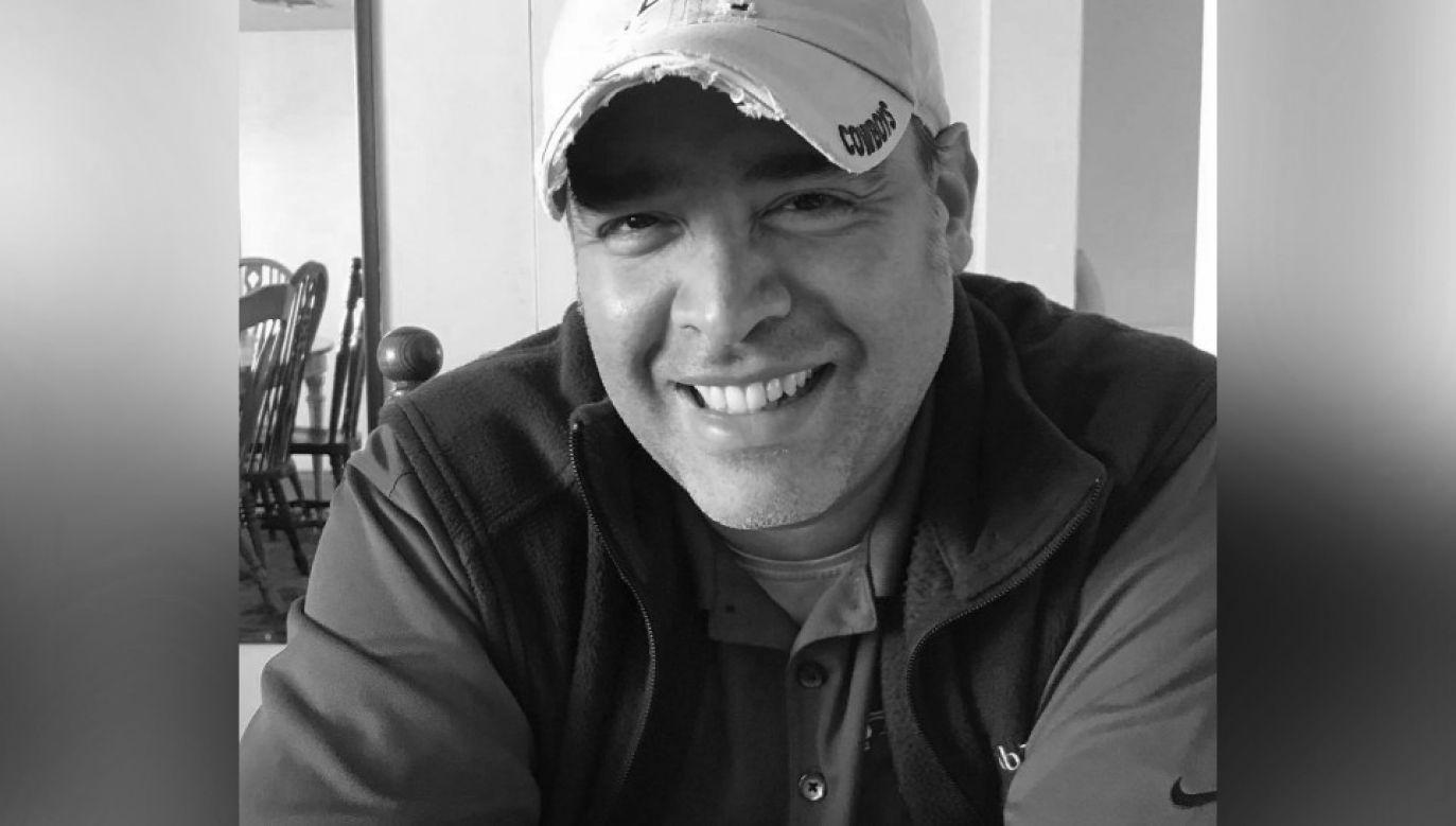 Adolph Mendez zmarł dwa dni po otrzymaniu wyniku testu (fot. FB)
