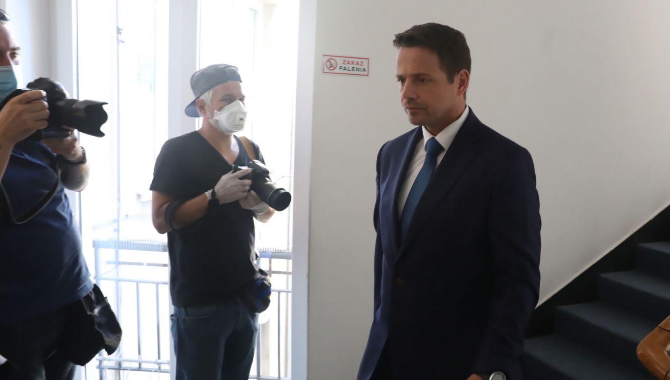 Wybory prezydenckie 2020. Wiceprzewodniczący PO Rafał Trzaskowski ( fot. PAP/Tomasz Gzell)