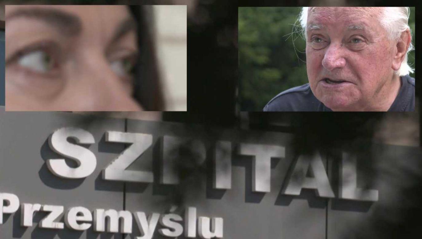 W szpitalu wszczęto wewnętrzne dochodzenie (fot. TVP1)