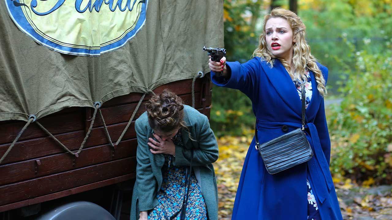 Kobiety walczyły również z bronią w ręku (fot. arch. TVP/PAP/Aleksandra Grochowska)