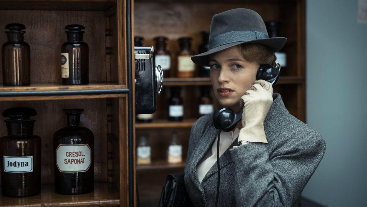 W postać Doris wciela się francusko-niemiecka aktorka Julie Engelbrecht (fot. Bartosz Mrozowski)
