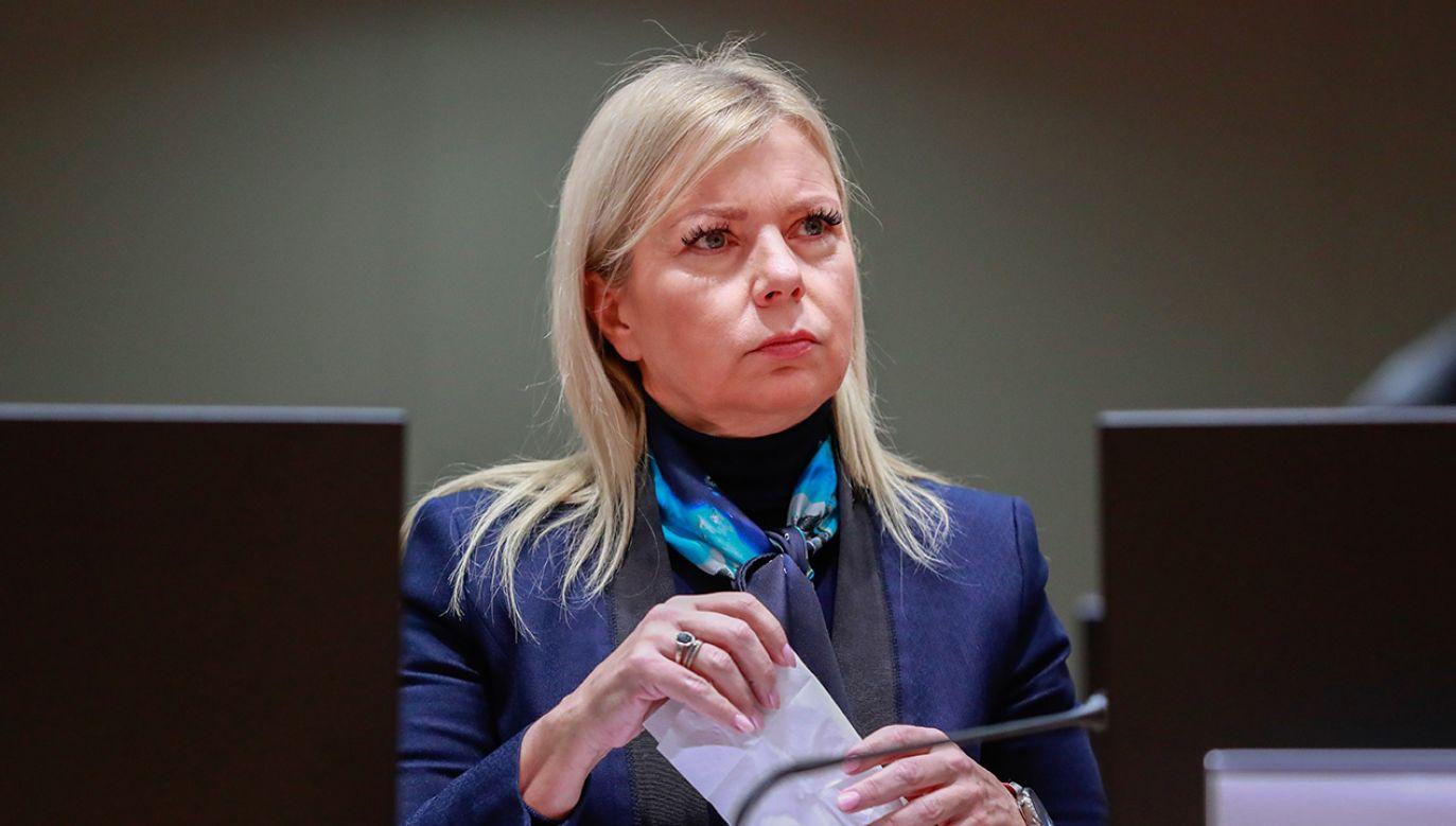 Wśród oskarżonych jest m.in. brat Elżbiety Bieńkowskiej (fot. arch. PAP/EPA/STEPHANIE LECOCQ )