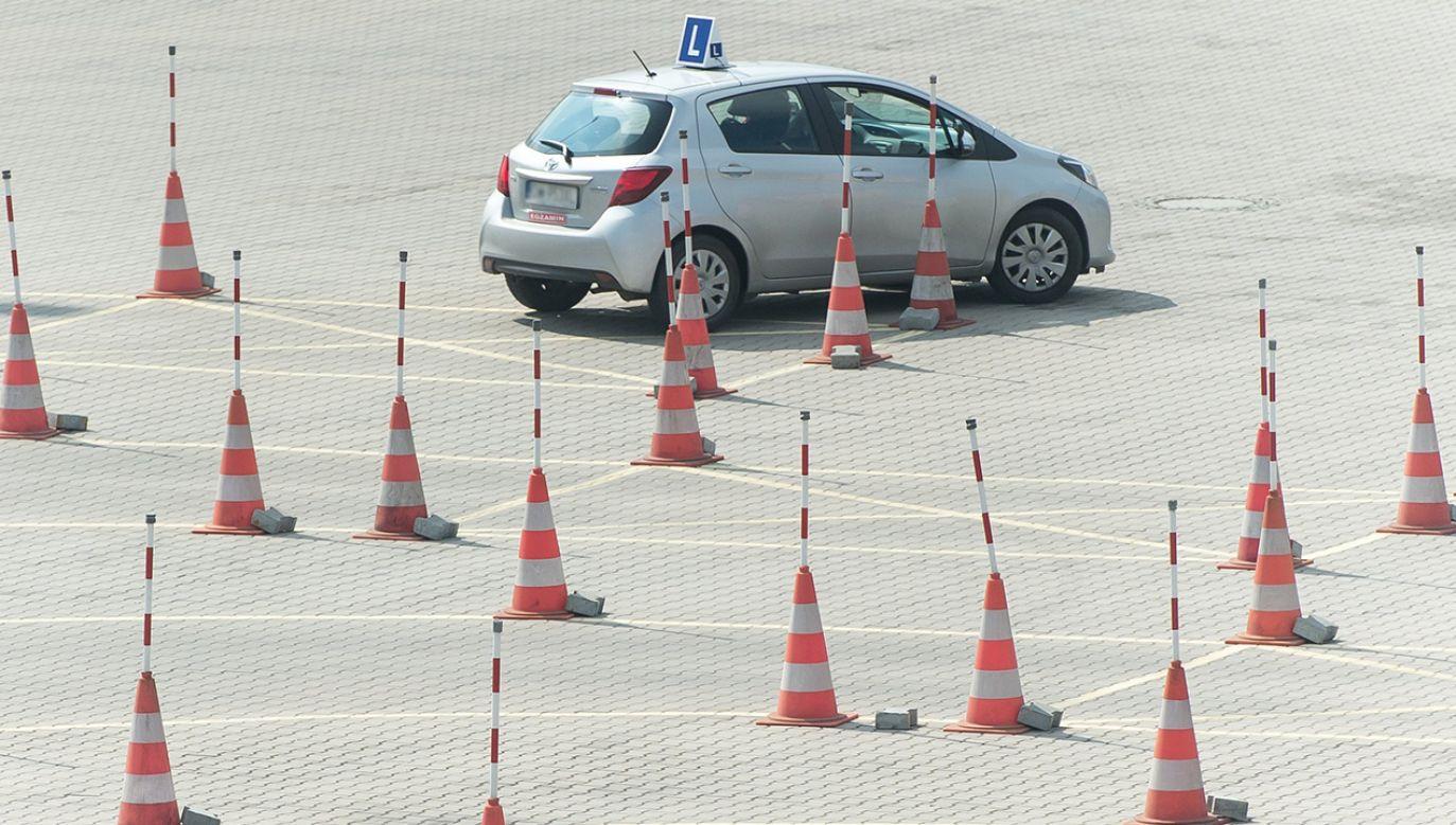 Zdarzenie miało miejsce na placu manewrowym WORD-u w Lublinie (fot. arch. PAP/Maciej Kulczyński)