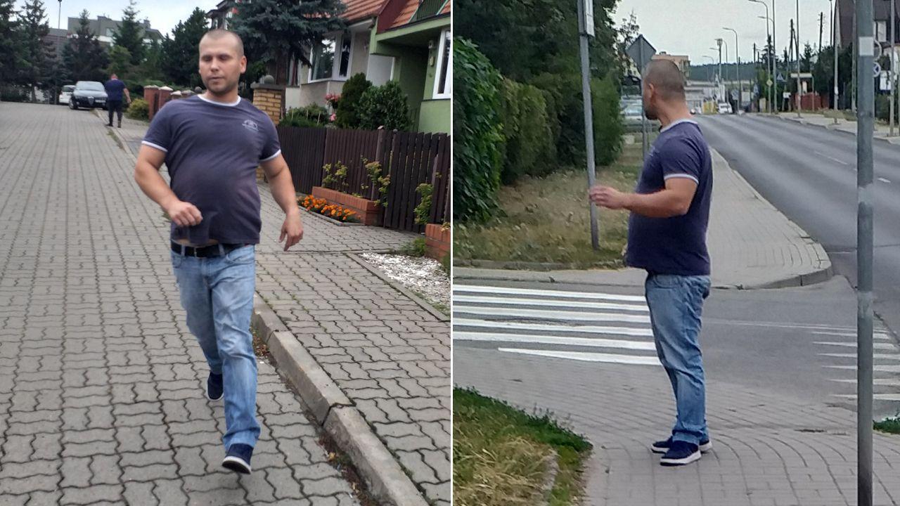 Molestowanej kobiecie udało się zrobić zdjęcie napastnikowi (fot. KWP w Bydgoszczy)